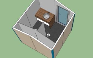 Camping private Sanitär