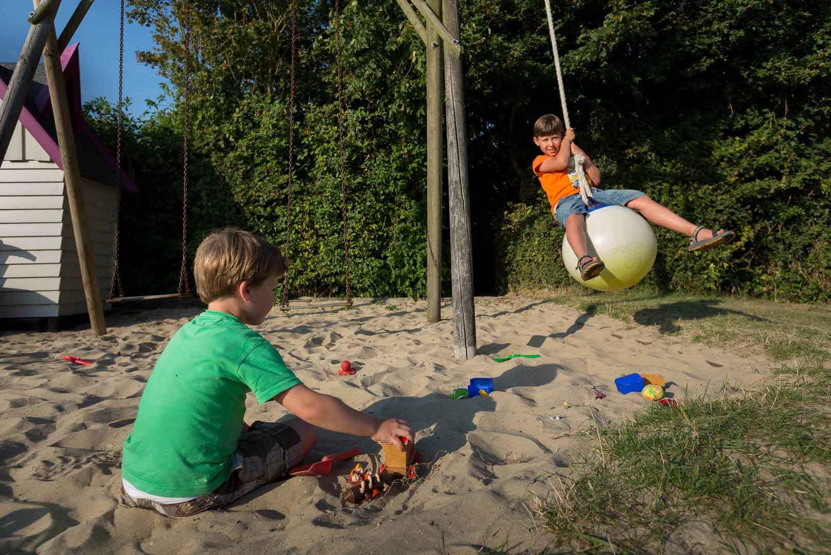 Bauernhof Camping mit Privatsanitär