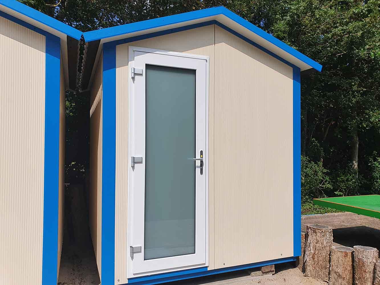 camping met eigen sanitair zeeland