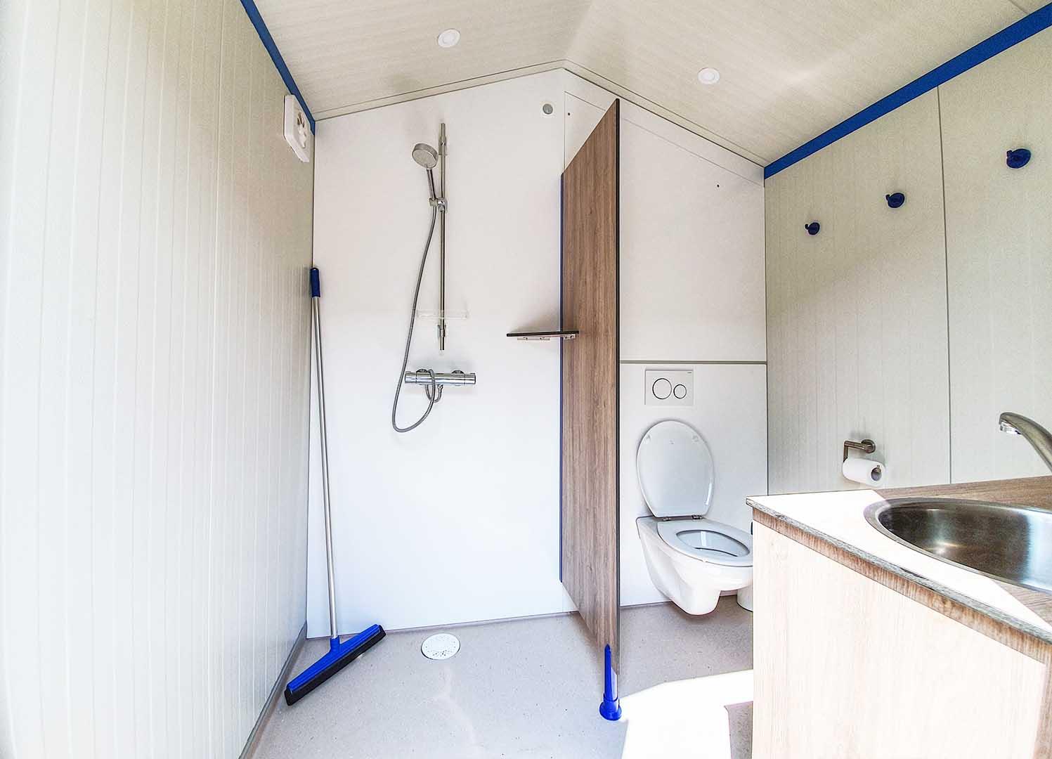 camping prive sanitair