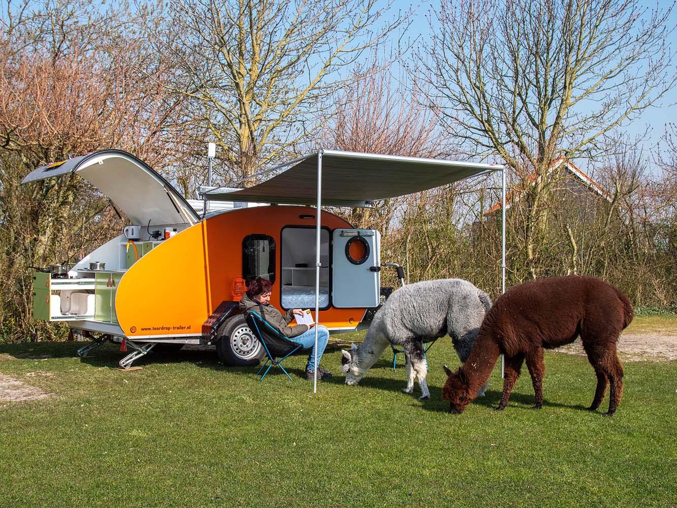 Camping mit Privatsanitär Zeeland